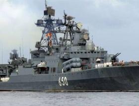 Çin savaş gemileri, İstanbul Boğazından geçti