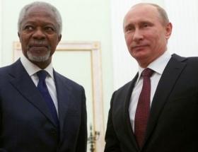 Putinden Annana destek