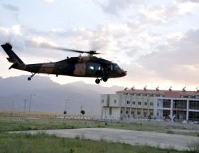 Helikopter teknik arızadan düştü