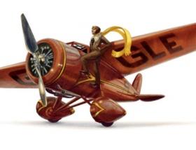 Google, Amelia Earhartı unutmadı