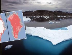 Grönland eriyor, bilim insanları panikte