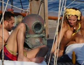 Teknede göbek havası