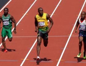 Bolt zorlanmadan finallerde