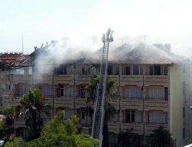 Marmariste otelde yangın