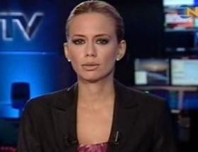 NTV spikerine destek
