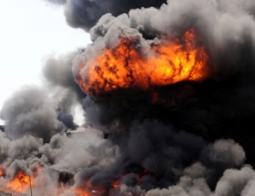 Rusyada askeri mühimmat deposunda patlama