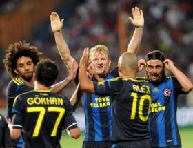 Fenerbahçe Romanyada şov yaptı