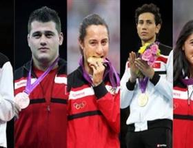 114 sporcu, 16 branş, 5 madalya