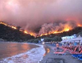 Sakız Adası yanıyor