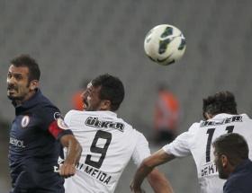 Beşiktaşın yüzü yine gülmedi