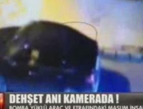 Gaziantepteki hain saldırı kameralarda