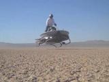 Geleceğin uçan motosikleti