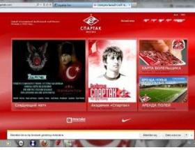 Spartak Moskovanın sitesi hacklendi