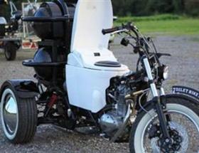 Tuvaletli motosiklet