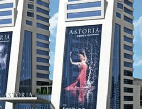 Astoria AVMde yangın paniği!