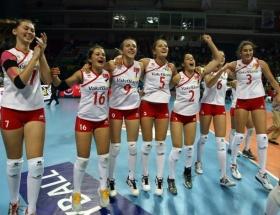 Genç  Kızlar Avrupa finalinde