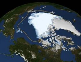 Kuzey Kutbunda buz alarmı
