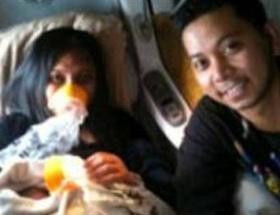 Uçakta doğan bebeğe uçuş kodu ismi