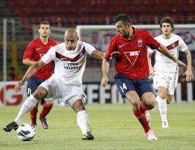 Trabzonspordan Avrupaya acı veda
