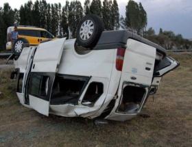 Tokatta trafik kazası: 10 yaralı