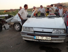Bismilde korkunç kaza
