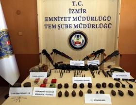 Toroslarda PKK cephaneliği
