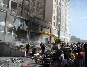 Zeytinburnunda rezidans yangını