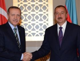 Erdoğan,Aliyev ile biraraya geldi