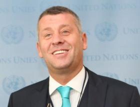 Metin Şentürk BMde konuştu