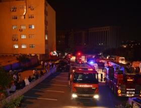 Ankara Ticaret Odasında yangın
