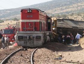 Çankırıda tren kazası 2 ölü!