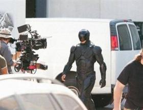 RoboCop setlere geri döndü