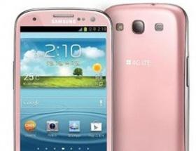 Pembe Galaxy S3 geliyor!