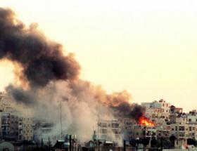 Halepte peş peşe patlamalar
