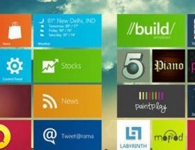 Windows 8 bir ayda 40 milyonu gördü
