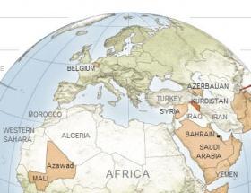 Yeni dünya haritasında Kürdistan