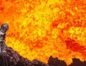 Cehennem kraterine indi