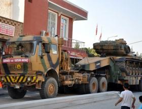 Suruça askeri araç sevkiyatı