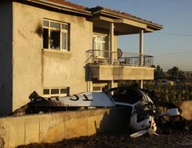 Ankarada eğitim uçağı düştü: 1 ölü