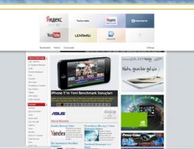 Yandex Browser çıktı