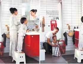 IKEAdan Suudi usulü katalog