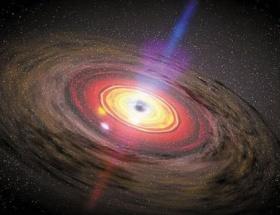 Galaksi kümesinde ikiz kara delik