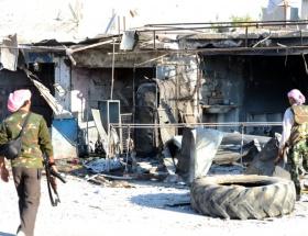 Türkiye sınırında şiddetli çatışma