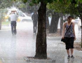 Egede kuvvetli yağış uyarısı