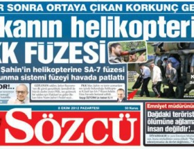 Sözcü Gazetesinden bomba iddia!