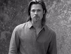 Brad Pitt bir ilke imza attı