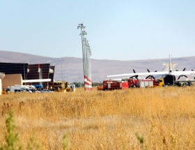 Ermenistan uçağı Erzuruma indirildi