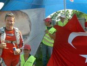 Uzaydan önce Antalyada da atladı