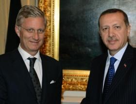 Erdoğan, Belçika Veliaht Prensi Philippe ile görüştü