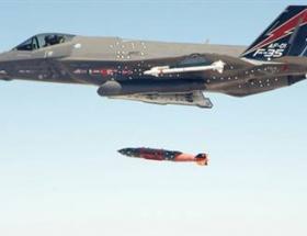 F-35 ilk kez bombasını test etti